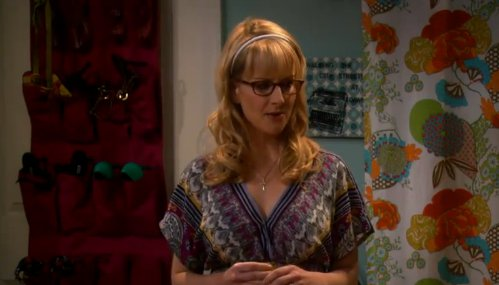 Image - Bernadette remembering her school years.jpg - The Big Bang