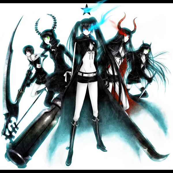 black rock shooter. Black★Rock Shooter