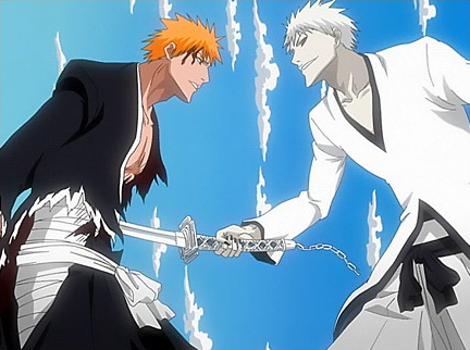 Because Ichigo calls it Zangetsu, his Hollow side asserts again that he is