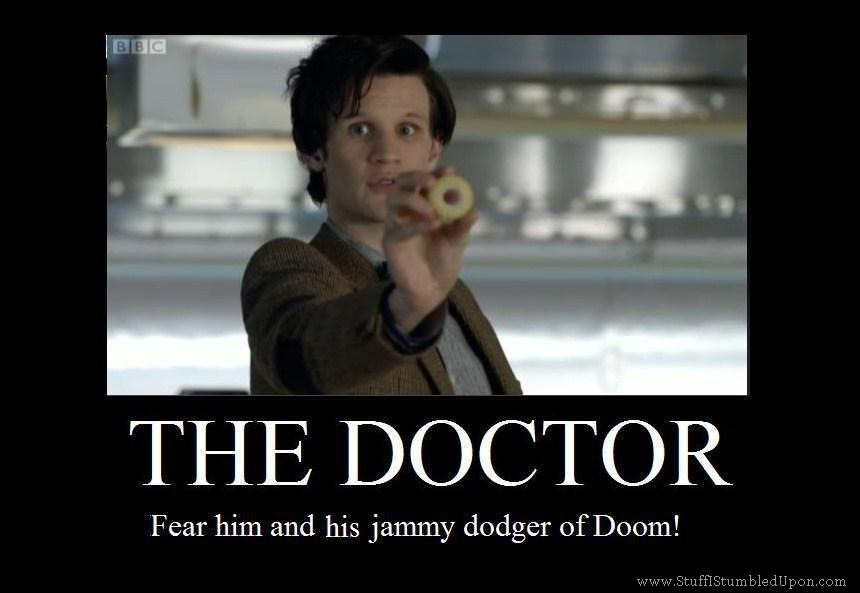 Doctor who Jammy Dogger of doom