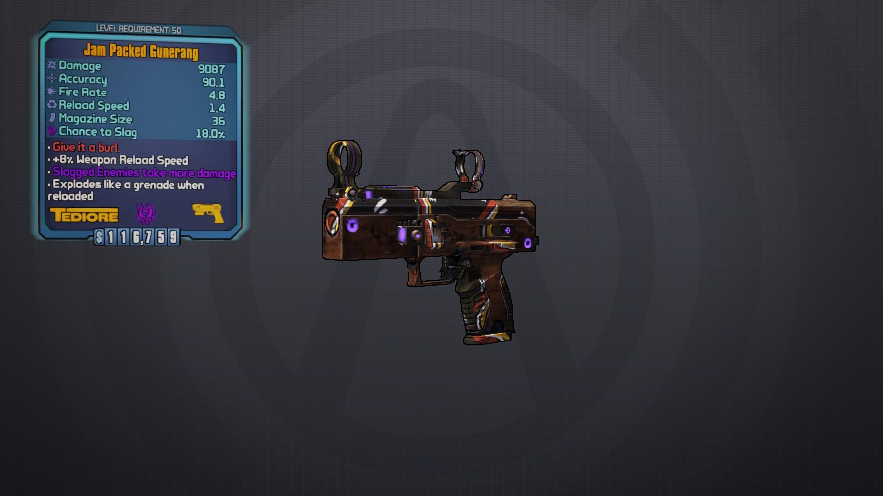 Unlocking weapon slots in borderlands 2 gibbed