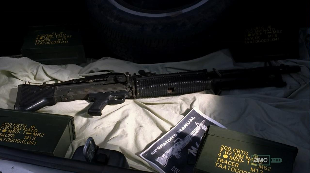 M60 Machine Gun Breaking Bad The M60 will most like...