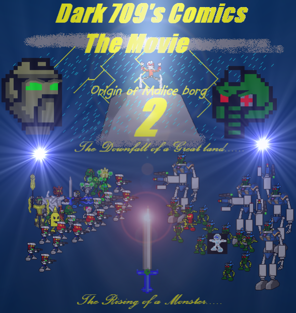 Dark709's Comics: The Movie II: Origin of Malice Borg - BZPower ...