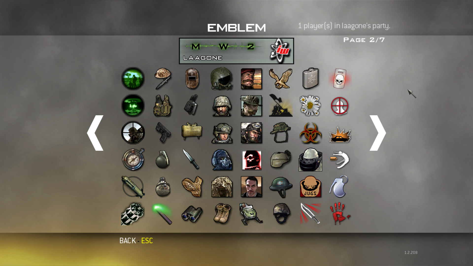how to get all titles and emblems in mw2 pc