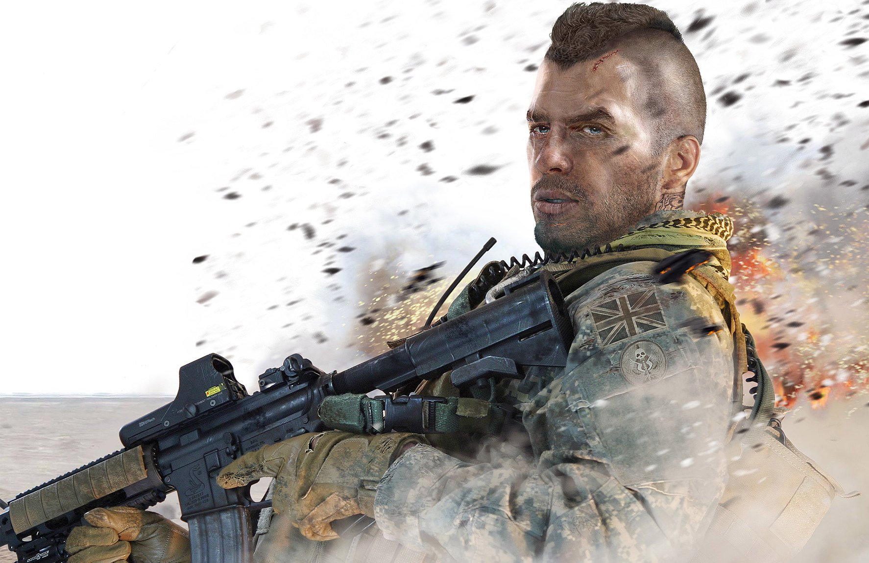 Call of duty mw3 soap mactavish