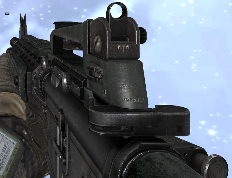 Image - M16A4 MW2.png - The Call of Duty Wiki - Black Ops ... M16a4 Mw2