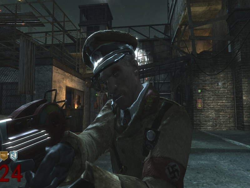 """One of Richtofen's quotes, """"Fluffy, is that you?"""" relates him to Edward who"""