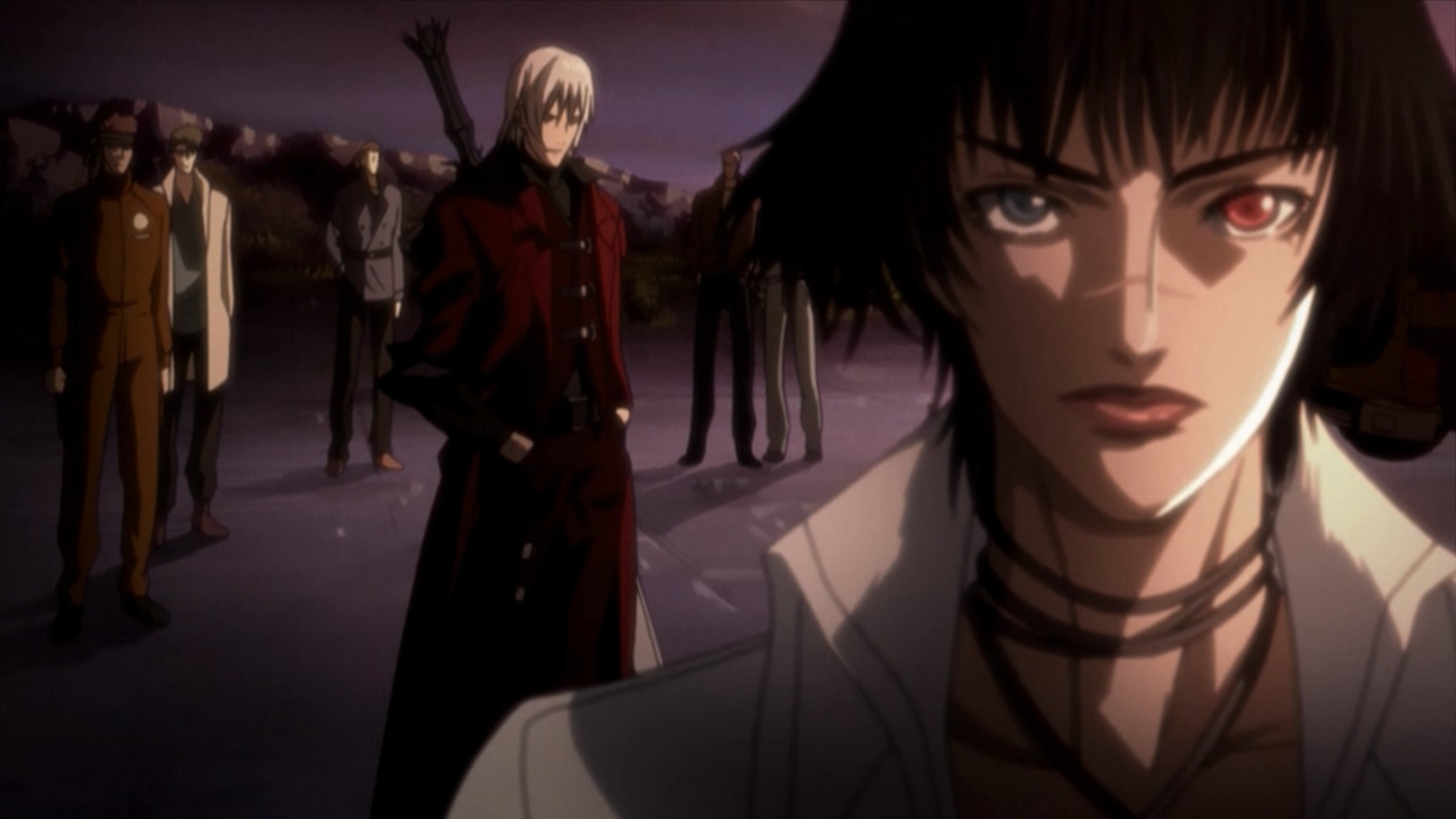 Lady %26 Dante   Devil May Cry anime Episode 2 Movie Review: Devil May Cry Animated Series