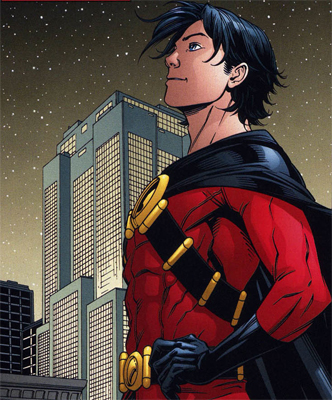 Tim Drake is the third Robin after Dick Grayson and Jason Todd.
