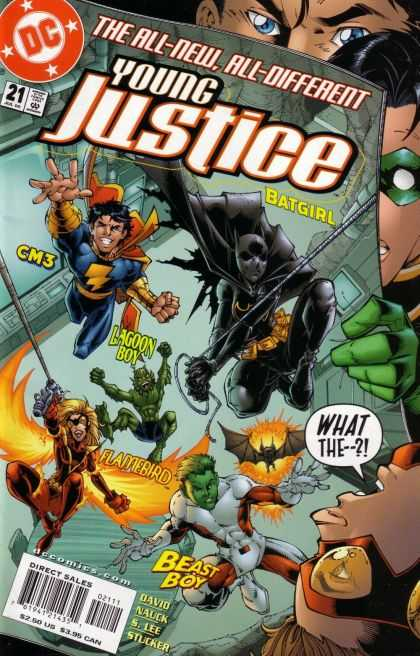 Young Justice #21 - Batgirl Annual 2000 #1 - Azrael Agent of the Bat #66