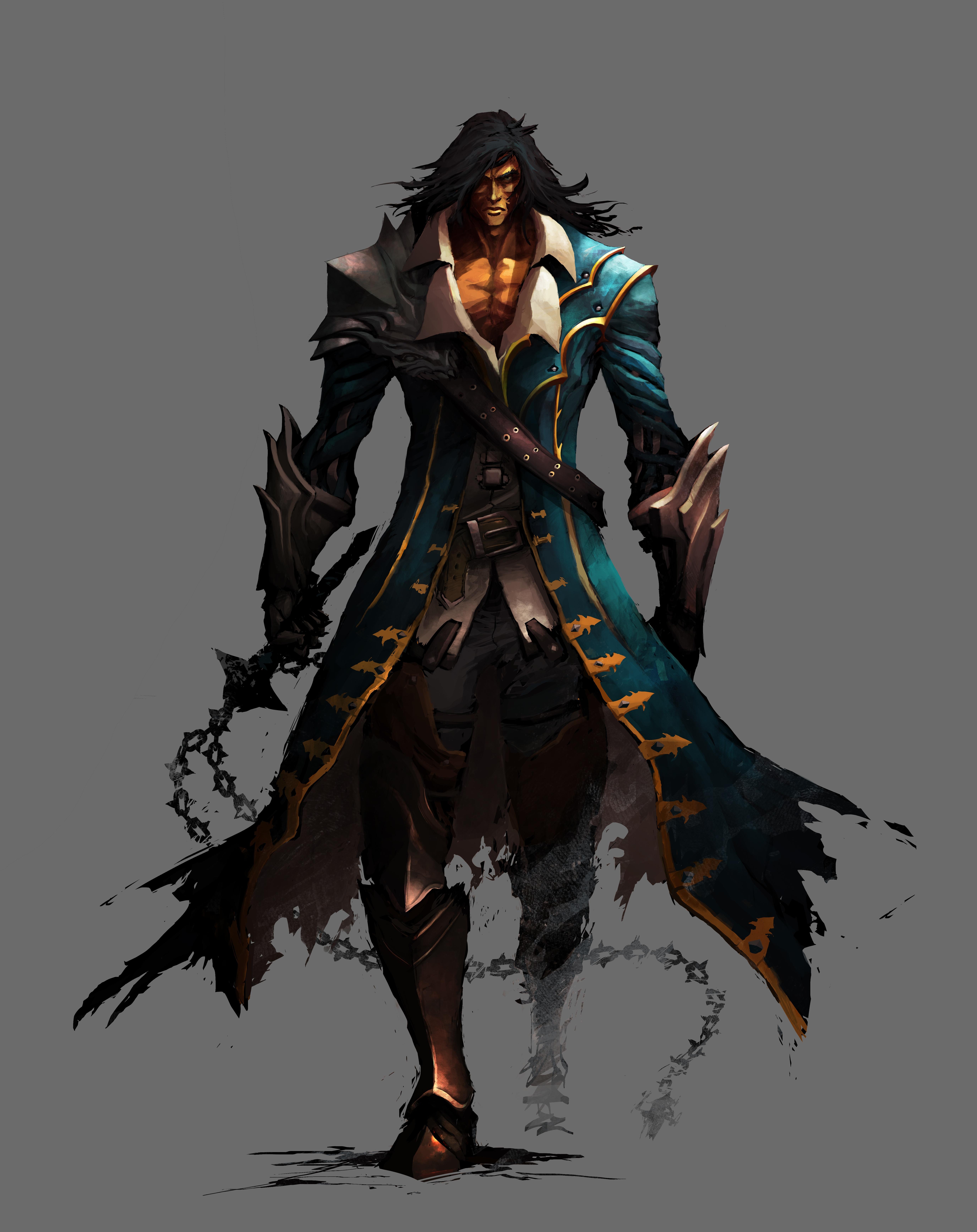 Gabriel Belmont  Lords of Shadow Trevor Belmont 8 Bit