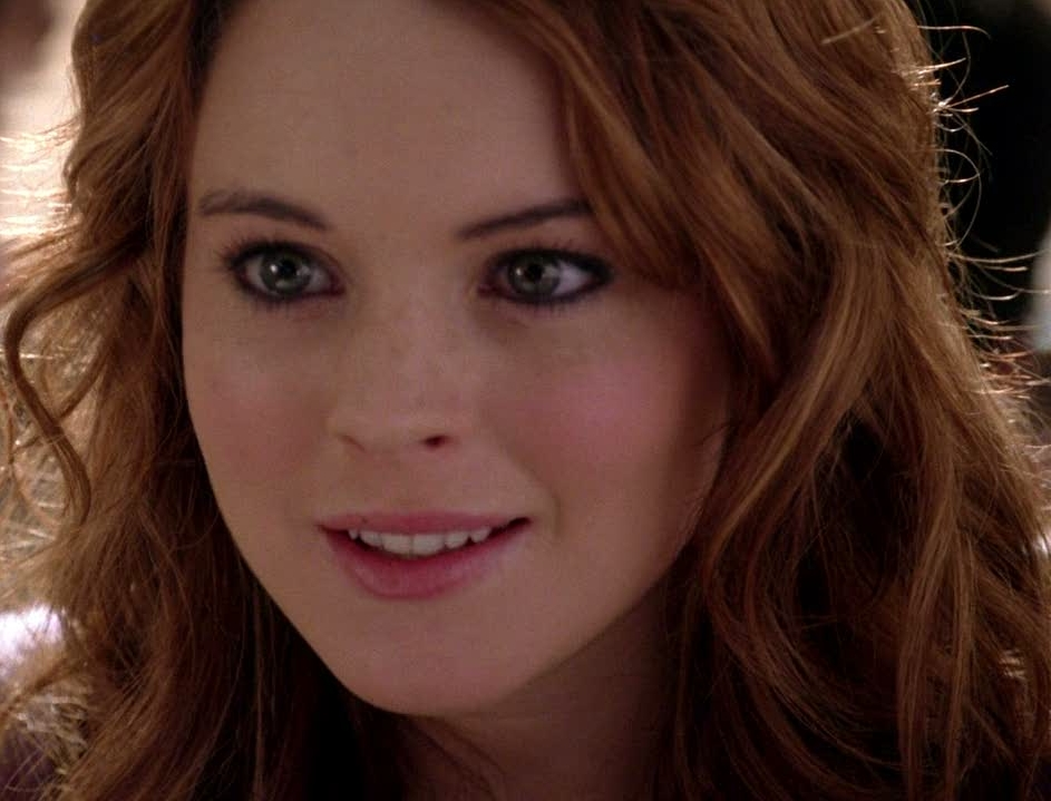 Cady Mean girls gif