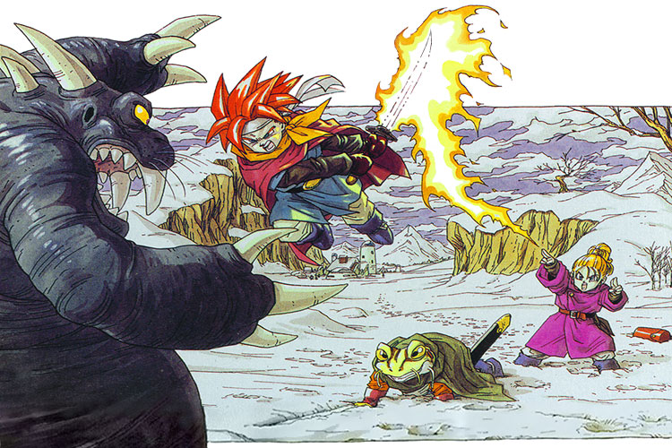 RPG para Super Nintendo Chrono_Trigger_Artwork2