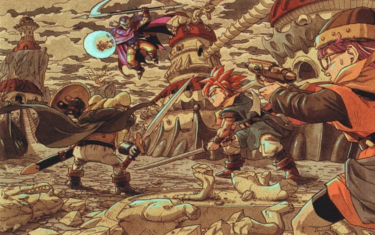 RPG para Super Nintendo Chrono_Trigger_Artwork9