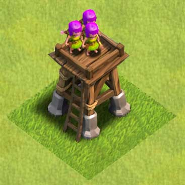 Image - ArcherTowerLevel4.jpg - Clash of Clans Wiki