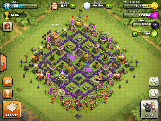 Image - TZaLs th7.PNG - Clash of Clans Wiki