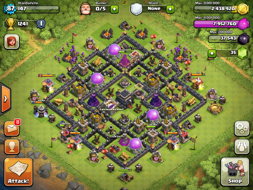 Clash of clans th9 best base war car tuning car pictures