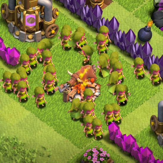 Clash of Clans Archer Levels