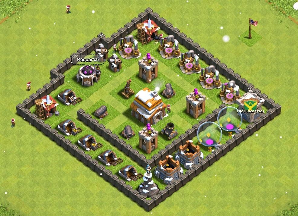 Clash of Clans Good Base Level 6