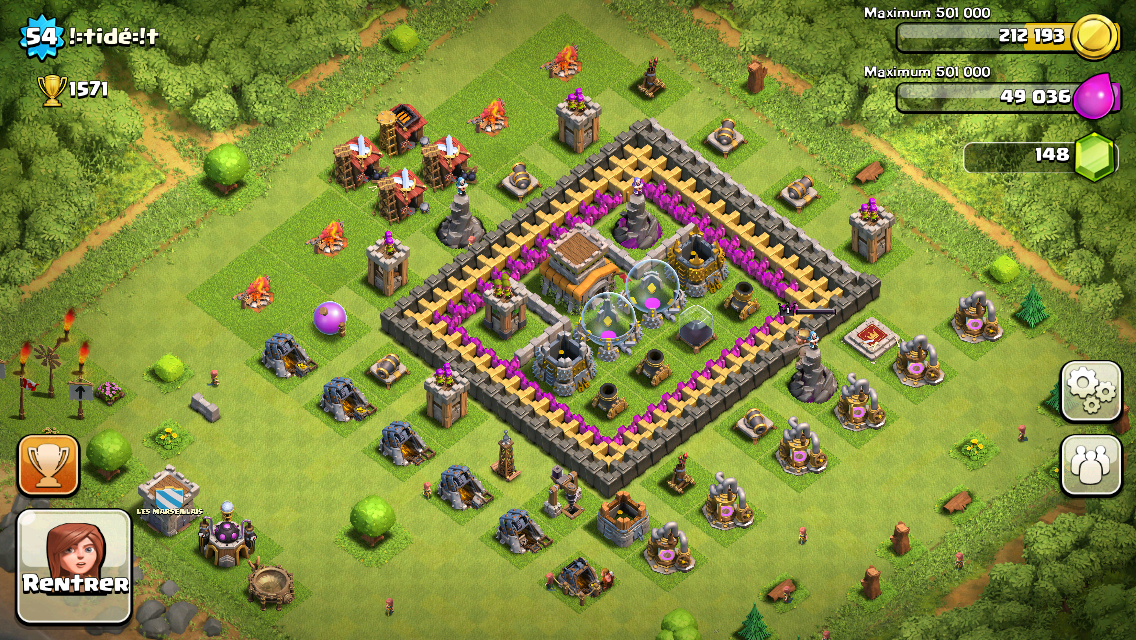Best Clash of Clans Th8 Hybrid Base