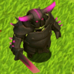 Clash of Clans Pekka Level-5