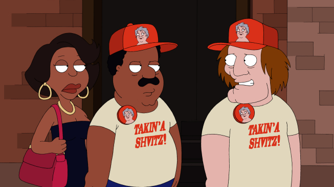cleveland show rallo. Cleveland Donna and Coach