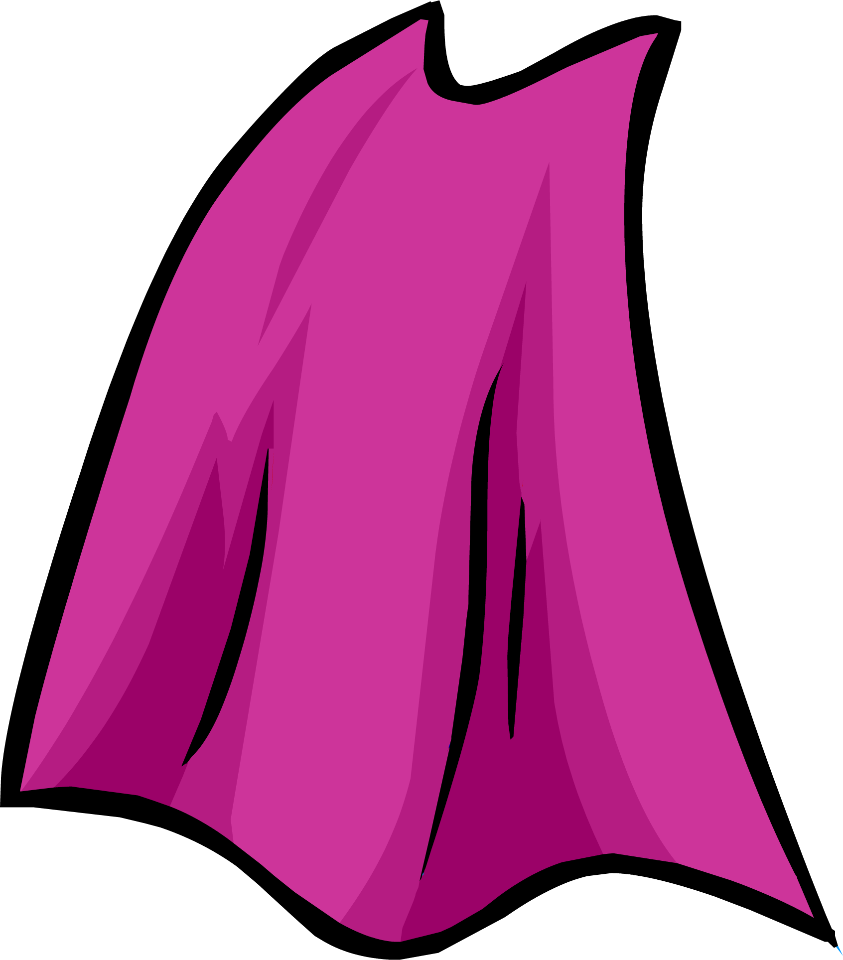 Http Clubpenguin Wikia Com Wiki File Pink Cape Icon Png
