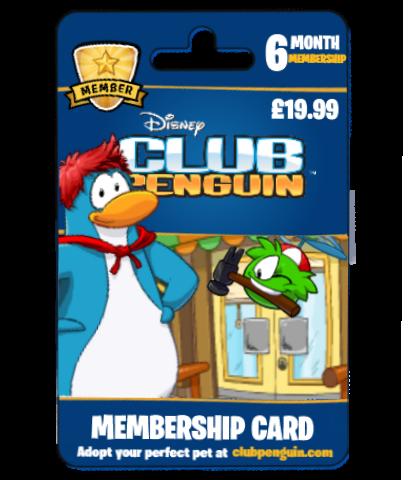 Word 2013 Club membership Card