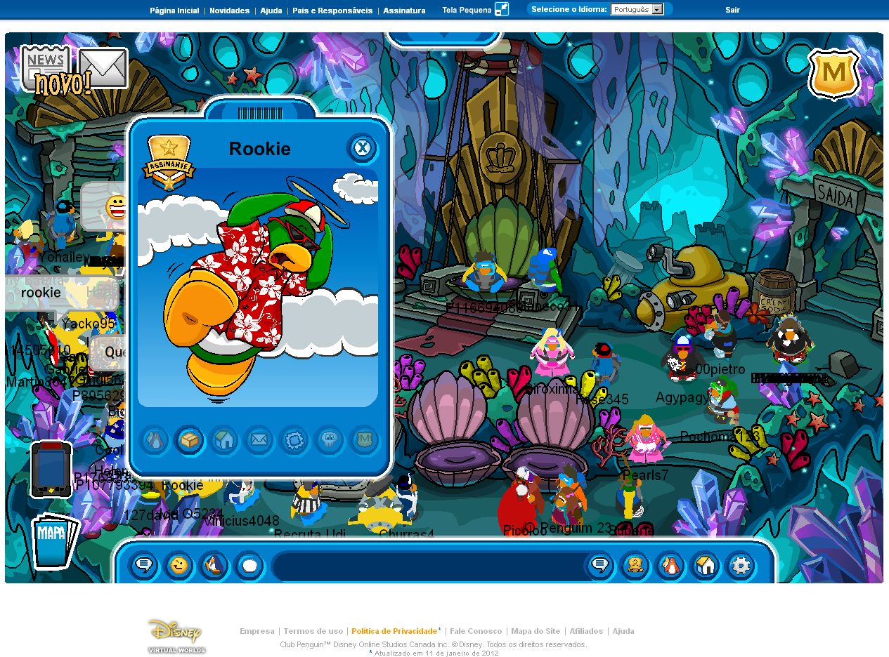 Image   Club Penguin Rookie     Club Penguin Wiki   The Free