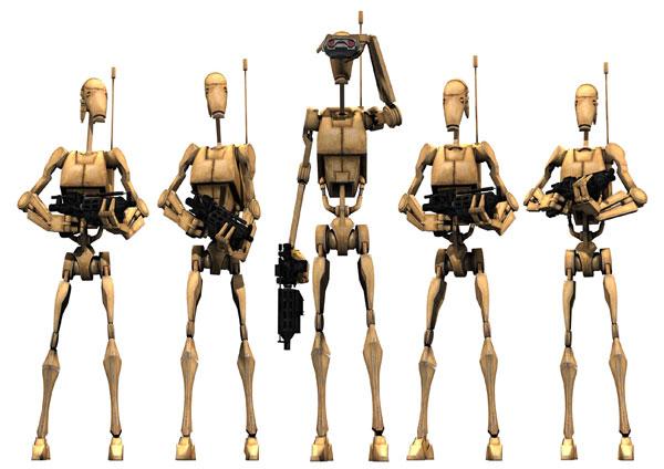 Image - Battle Droids.png - Club Penguin Fanon Wiki - Make your own ...