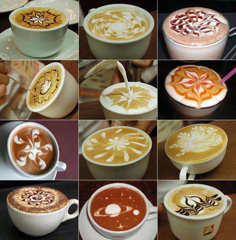 http://coffee.wikia.com/wiki/Latte_Art