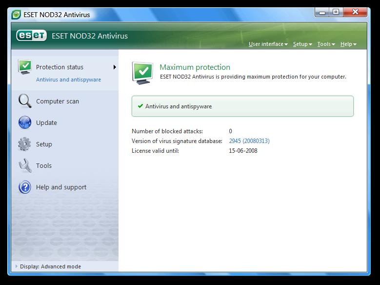 Nod32 Antivirus 8 key