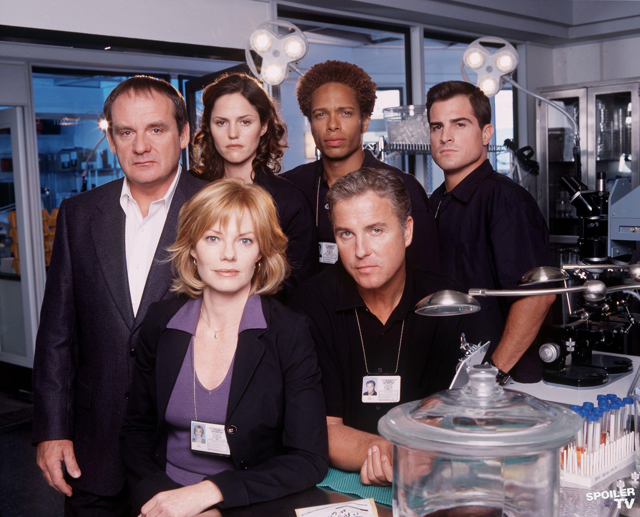 Image - CSI Season 01 Cast.jpg - CSI