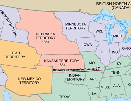 an introduction to the kansas nebraska act Kansas-nebraska act — the kansas-nebraska act was passed by the us congress on may 30, 1854 it allowed people in the territories of kansas and nebraska to decide for themselves whether or not to allow slavery.