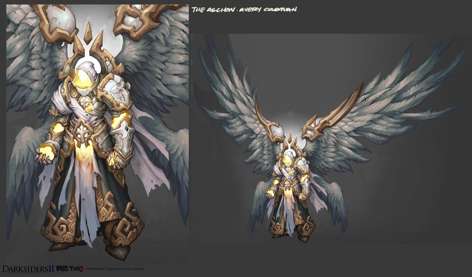 Darksiders Archon Image - Darksiders II ...
