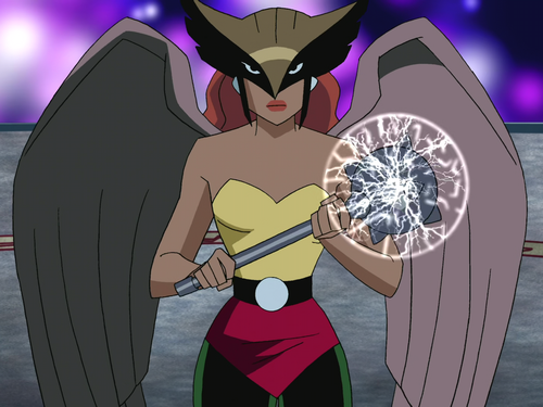 Super Heroes and Villains Hawkgirl