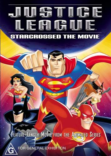 Justice League: Starcrossed Cover