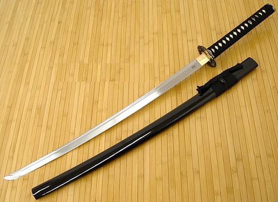Saeko Busujima Japanese-swords-samurai-swords-musashi-maou-kaze-katana