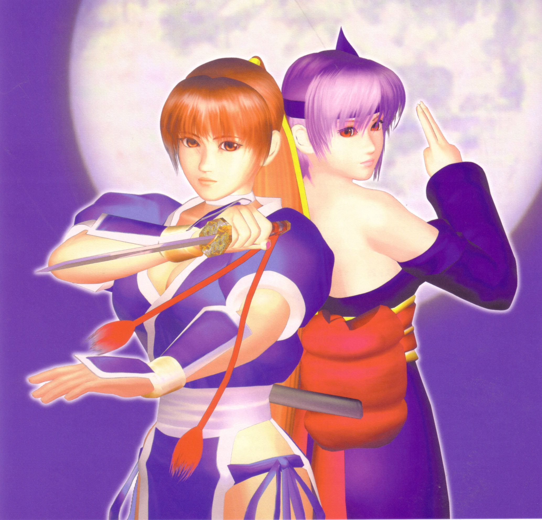 The valuable Dead or alive kasumi and ayane excited