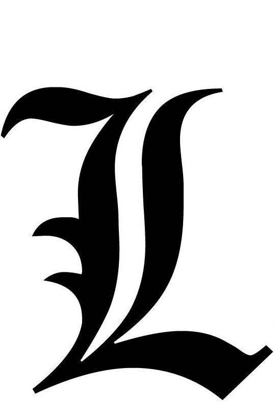 Image - Old English L.JPG - Death Note Wiki