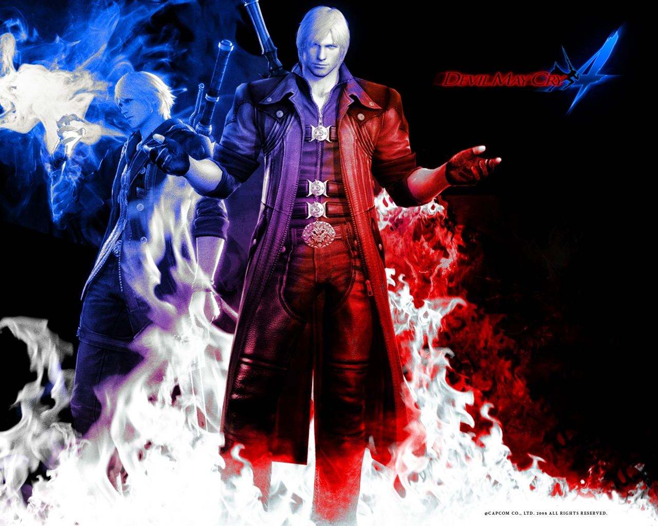 Image - Devil may cry 4 dante y nero.jpg - Devil May Cry Wiki