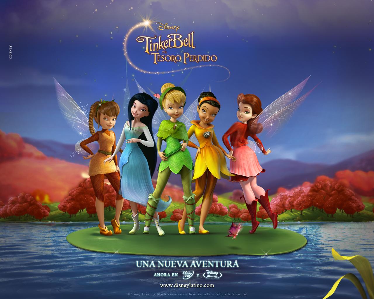 Tinkerbell Y El Tesoro Perdido     Disney Hadas Wiki   La Wiki De