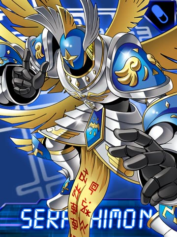 Seraphimon Wallpaper Imagen - Seraphimon Co...