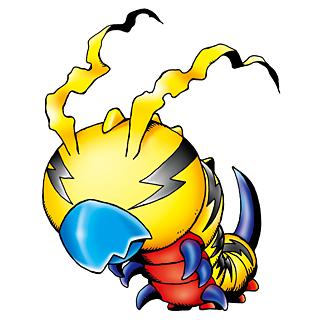 Digimon #000: Kunemon Kunemon_b