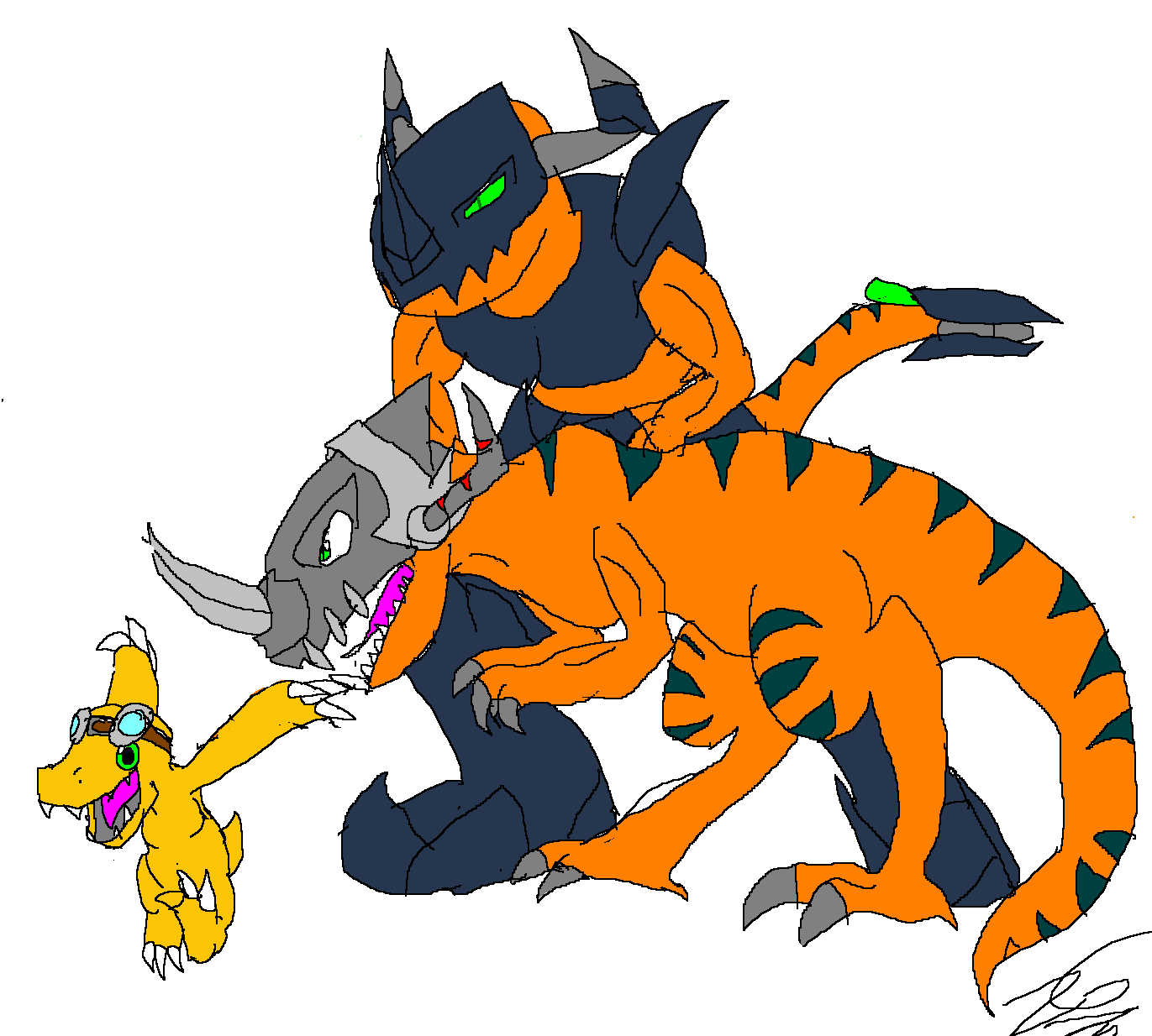 digimon evolution agumon - photo #24