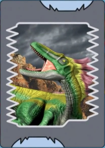 No higher resolution available Dinosaur King Megalosaurus Card
