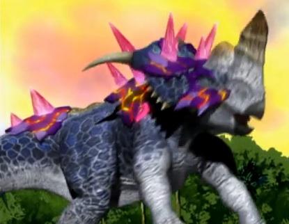pachyrhinosaurus dinosaur king  File:Pachyrhinosaurus (Spectral Armor) 2.jpg