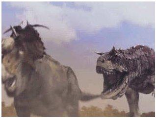 pachyrhinosaurus vs carnotaurus  File:Disney's Dinosaur Pachyrhin...