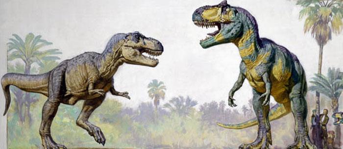 tiranosaurio vs gigantosaurio