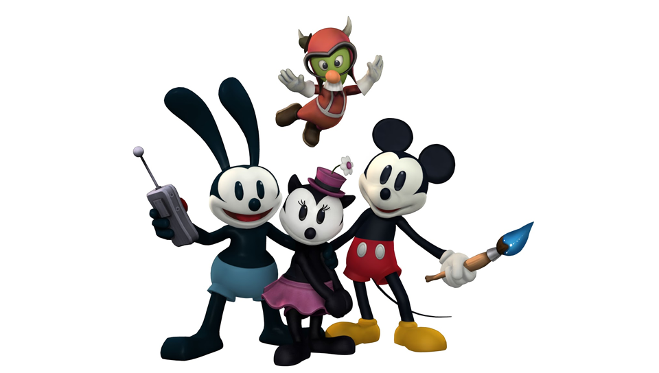 Mickey,Oswald,OrtenciaetunGremlins.